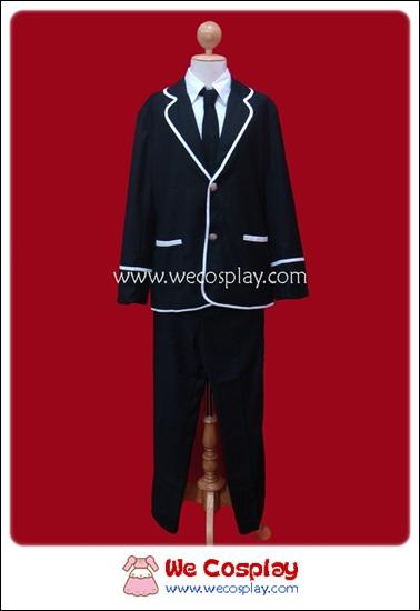ชุดนักเรียนญี่ปุ่นฤดูหนาว แขนยาว สีดำ สำหรับผู้ชาย