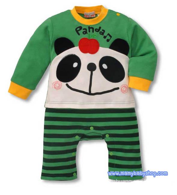 บอดี้สูทแฟนซีลายสัตว์น้อย Panda