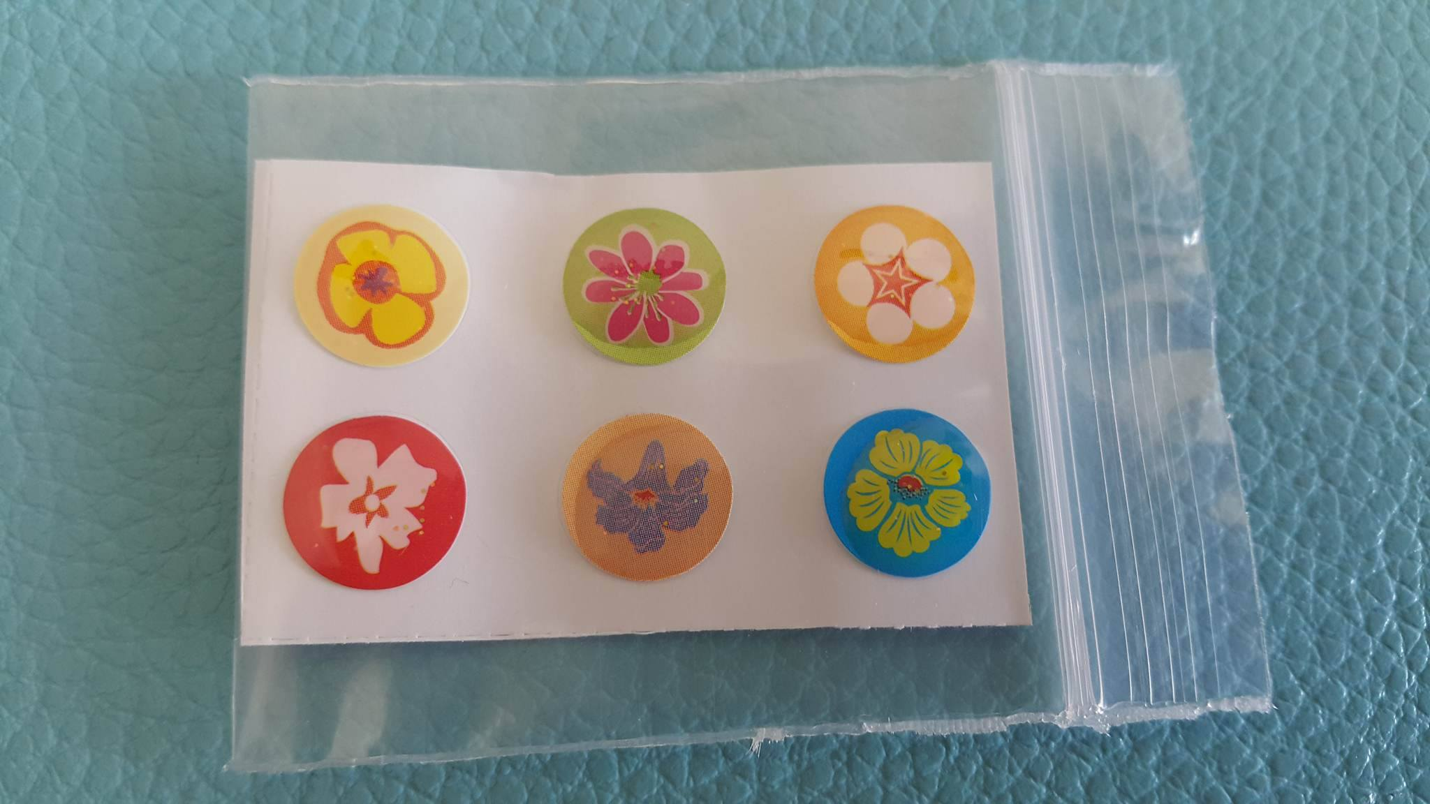 ปุ่มโฮมไอโฟน ดอกไม้ (1 Pack/6 ชิ้น)