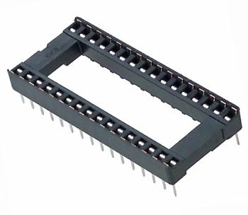 DIP32 (Socket Dip Solder Type 32 Pins, Pitch 2.54mm)