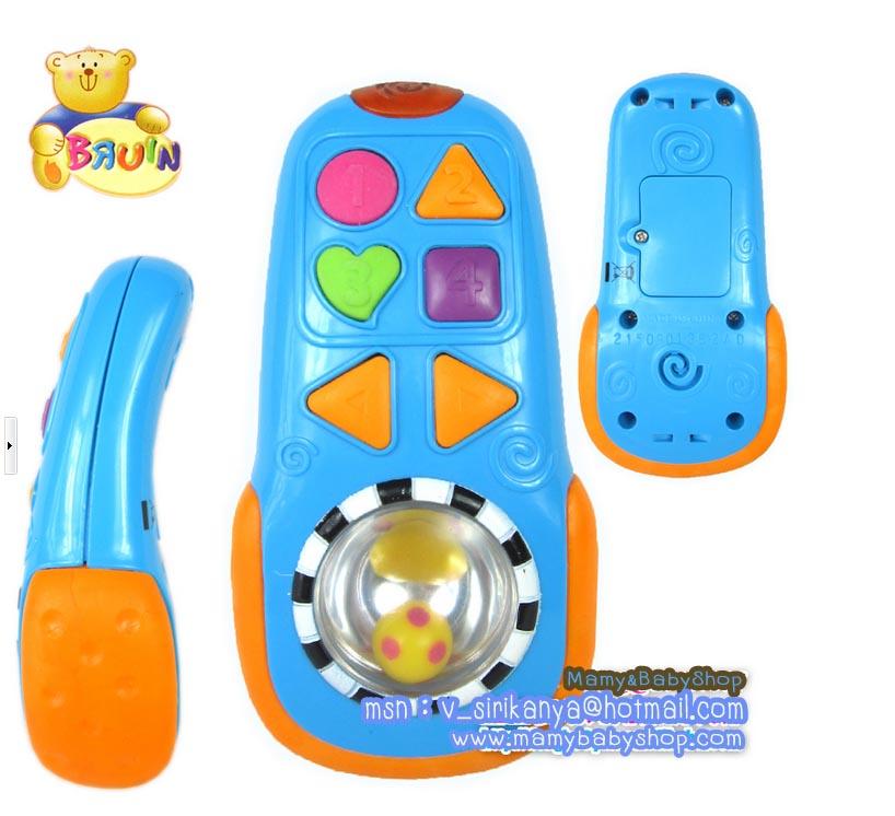 ของเล่นเด็กโทรศัพท์มือถือ BRUIN