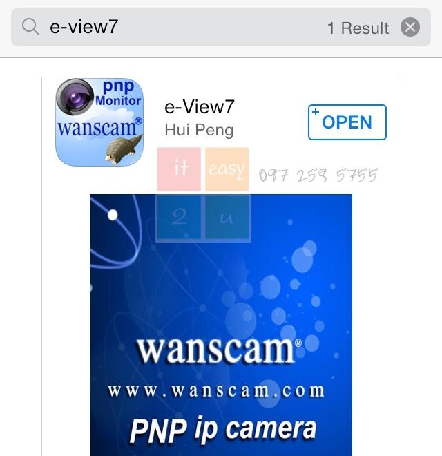 e-view7 IP Camera