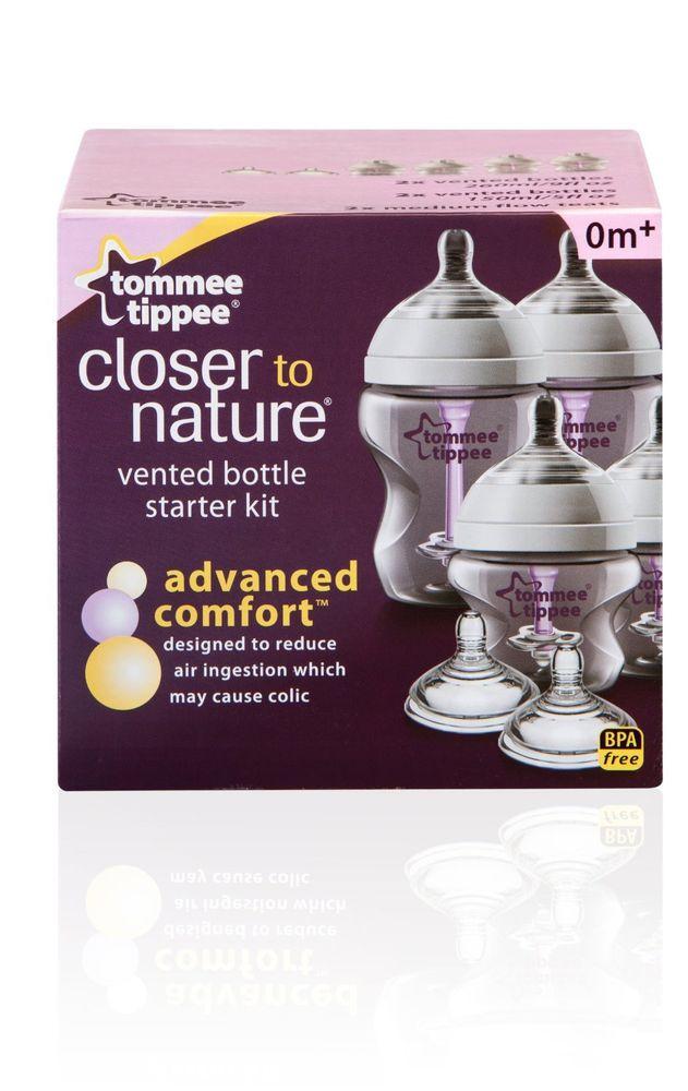 Tommee Tippee ขวดนม และจุกนม Starter Kit รุ่น Advanced Comfort