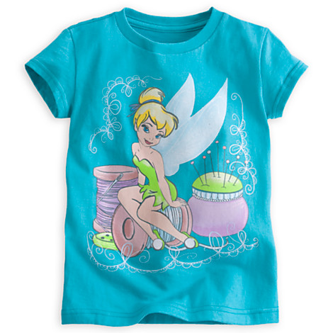 z Tinker Bell in Pastels Tee for Girls(size4)
