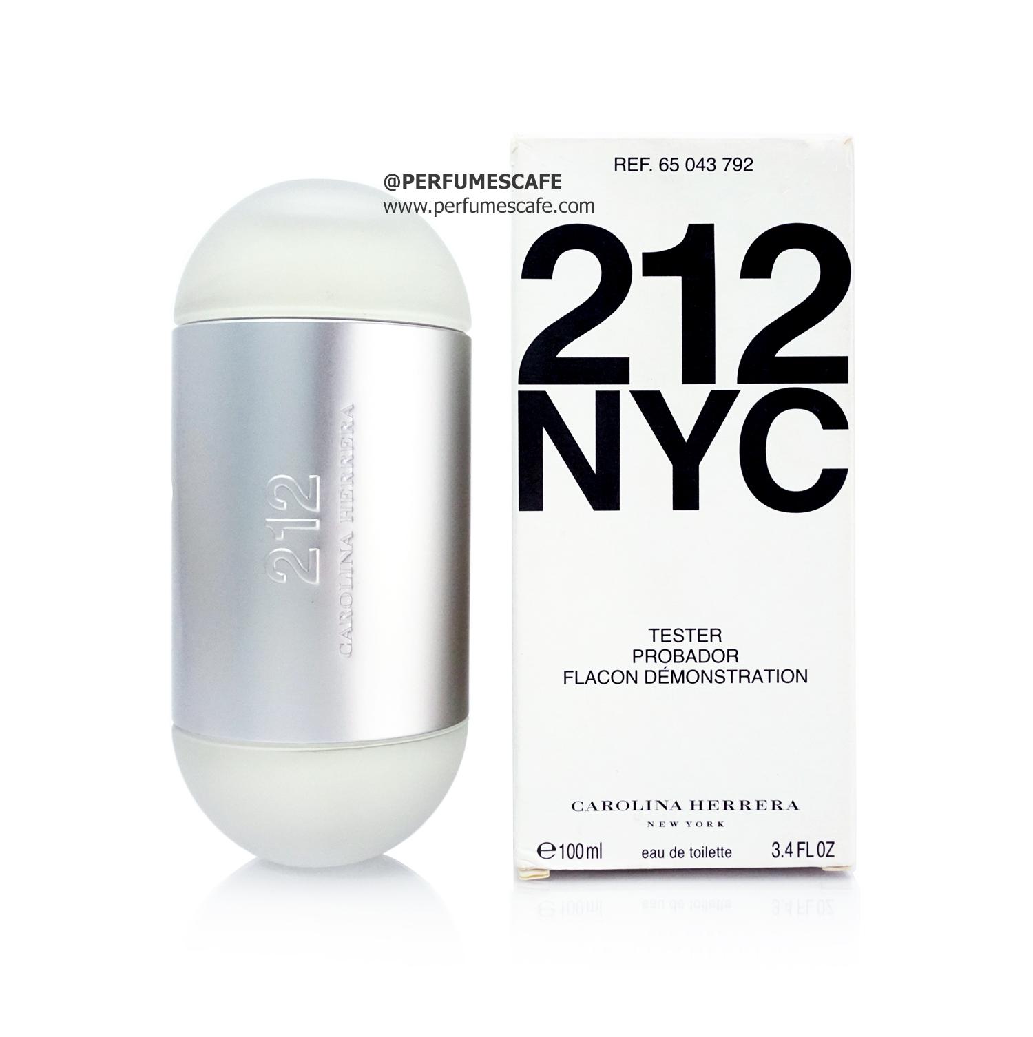 น้ำหอม 212 NYC Carolina Herrera for women ขนาด 100ml กล่องเทสเตอร์