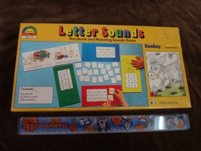Donky cetter sounds story book and Rhyming game