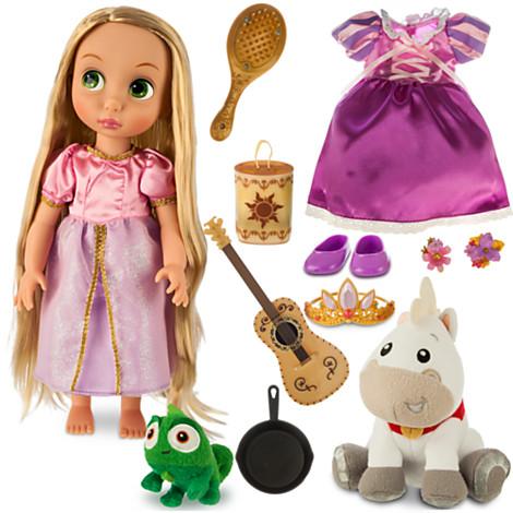 Gift Set Rapunzel Doll - Disney Animators' Collection ราพันเซล กิ๊ฟเซ็ต ของแท้ นำเข้าจากอเมริกา