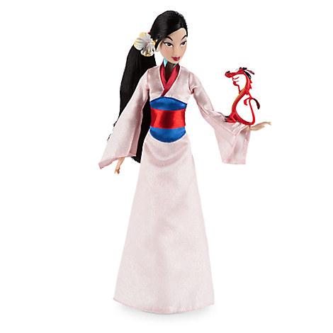 Mulan Classic Doll with Mushu Figure - 12'' ของแท้ นำเข้าจากอเมริกา