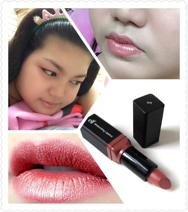 **พร้อมส่ง+ลด 70% **E.L.F. Moisturizing Lipstick สี Cheeky รหัส 82632