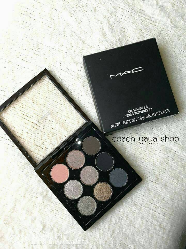 ***พร้อมส่งค่ะ*** MAC Eyeshadow X9 Fard A Paupieres X9 Smoky Metallic Times Nine