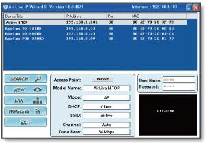 Airlive IP Finder