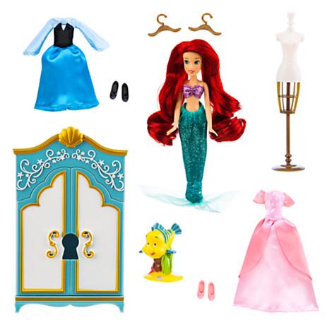 ฮ Ariel Wardrobe Doll Play Set
