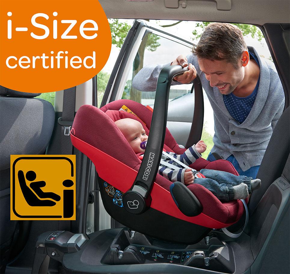 Maxi-Cosi คาร์ซีทตะกร้า รุ่น Pebble Plus สำหรับเด็กแรกเกิด - 12 เดือน