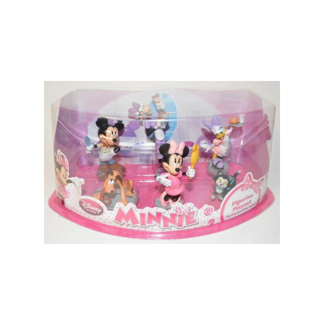 zDisney Store Minnie Figurine Playset.