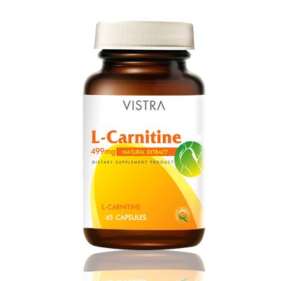 Vistra L-Carnitine 45 Capsules