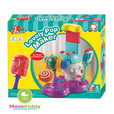 ชุดแป้งโดว์ทำไอศกรีมแท่ง Lovely Pop Maker