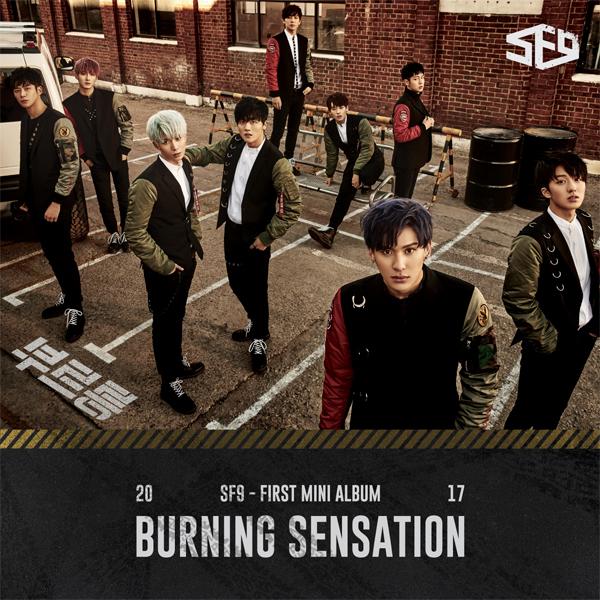 SF9 - Mini Album Vol.1 [Burning Sensation] พร้อมส่ง