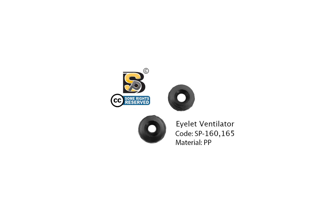 แหวนดำ / Eyelet Ventilator