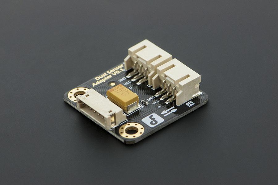 Dust Sensor Adapter (พร้อมสายเคเบิล) - DFRobot