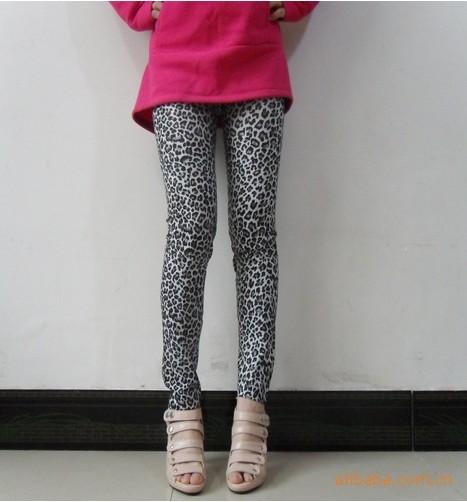 เลคกิ้งแฟร์ชั่นเกาหลีลายเสือ เนื้อผ้าร่มสวมใส่สบายขนาด Free Size