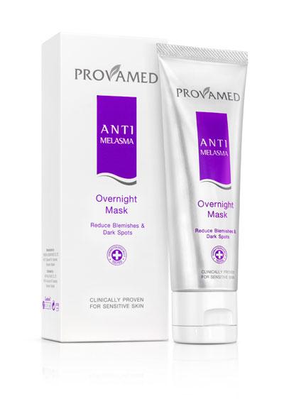Provamed Anti Melasma Overnight Mask 50g. โปรวาเมด แอนตี้ เมลาสม่า โอเวอร์ไนท์ มาส์ก