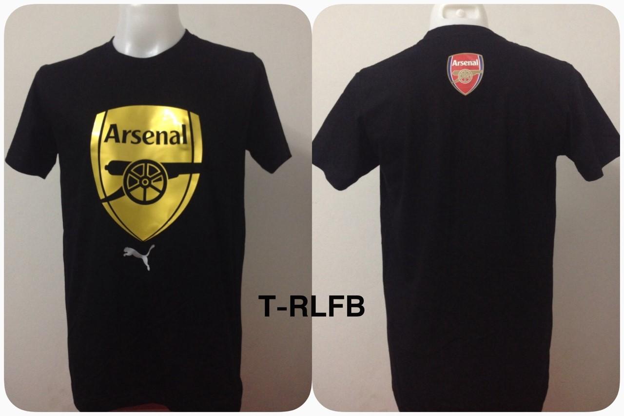 เสื้อยืด อาร์เซน่อล สีดำ T-RLFB