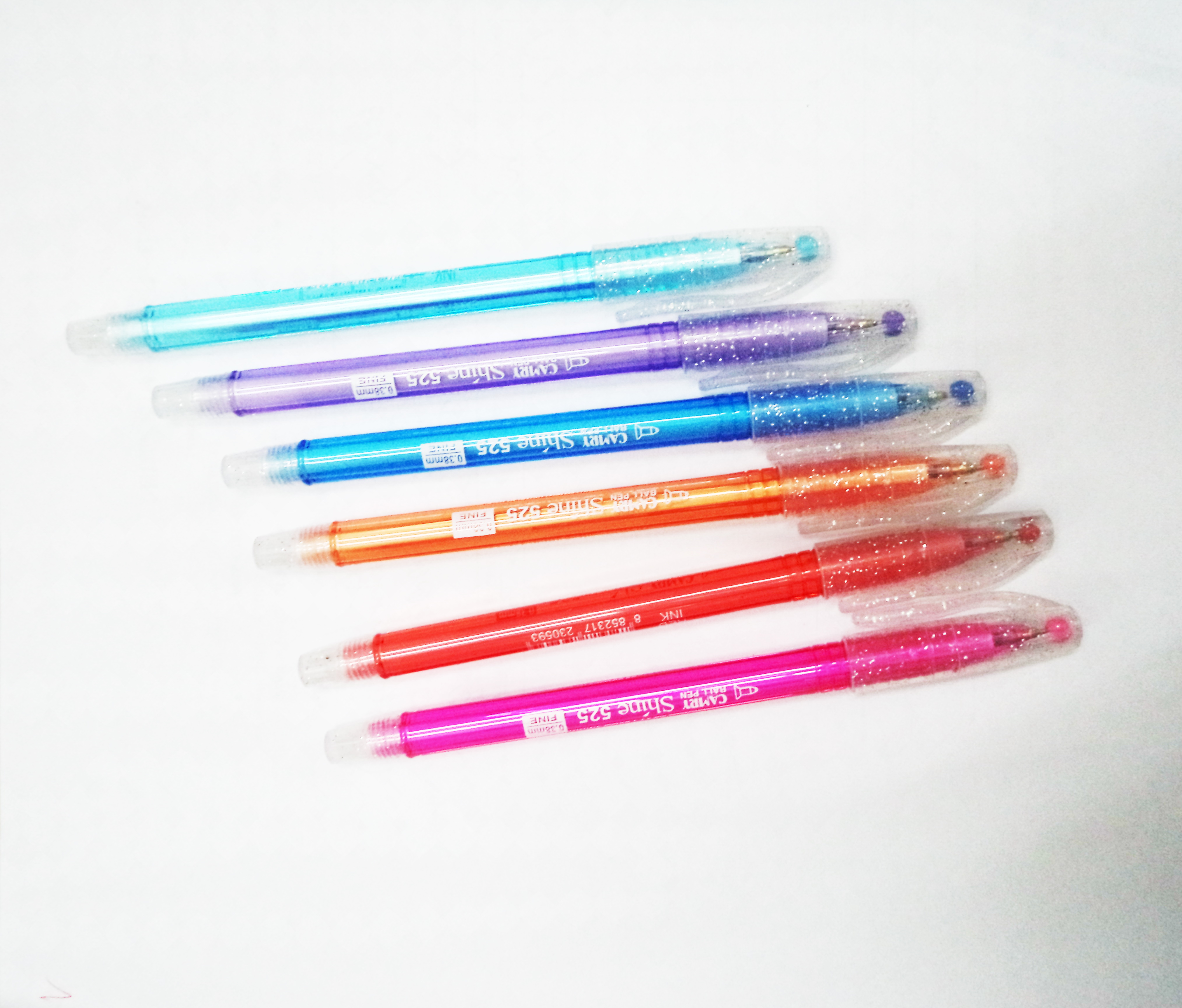 ปากกา semi-gel 0.38 มม. ยี่ห้อ camry แพ็ค 10 ด้าม รหัส 1456