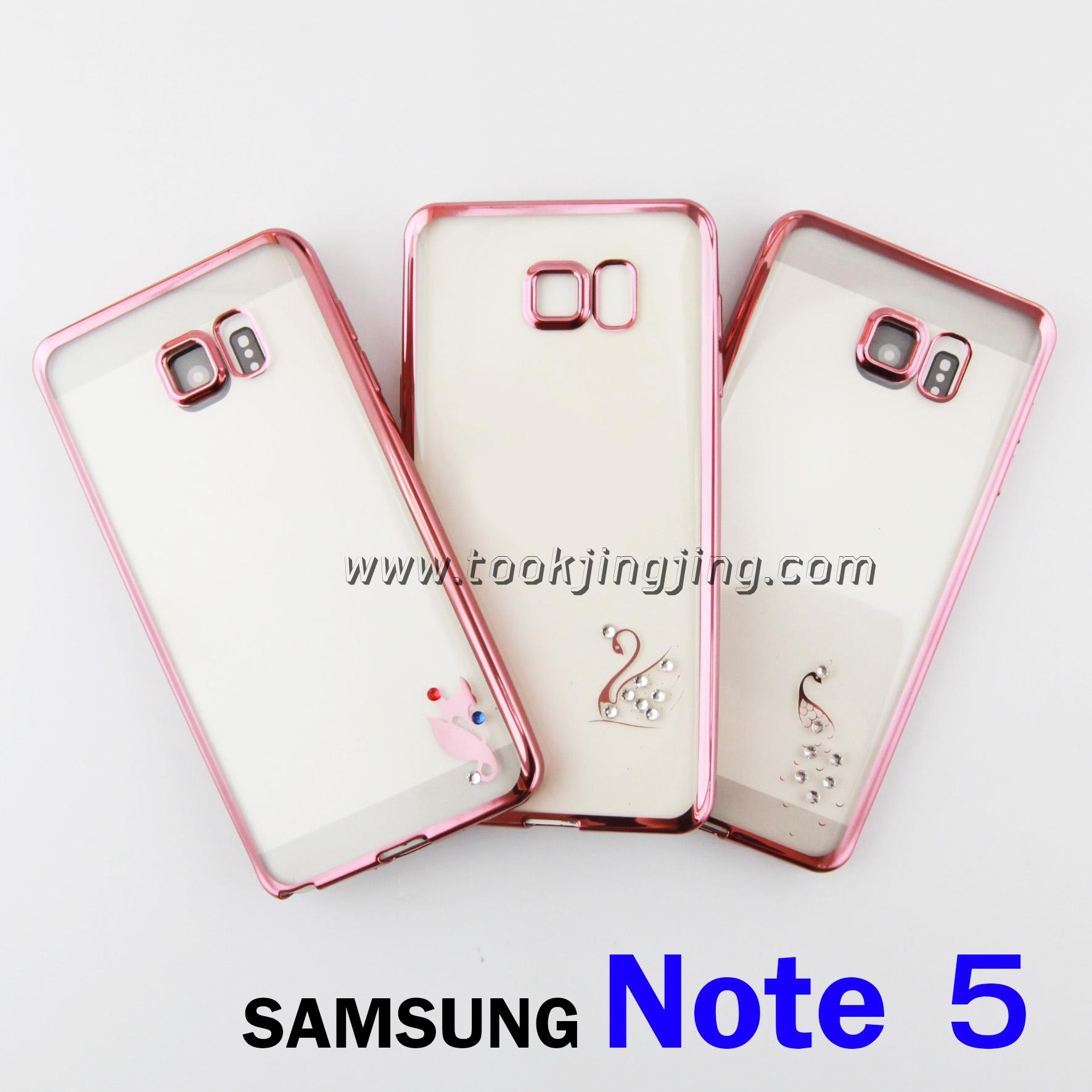 เคส ซิลิโคนใส Samsung Note 5 CADENZ ลดเหลือ 50 บาท ปกติ 300 บาท