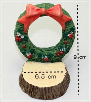 (ตอไม้) Christmas circle