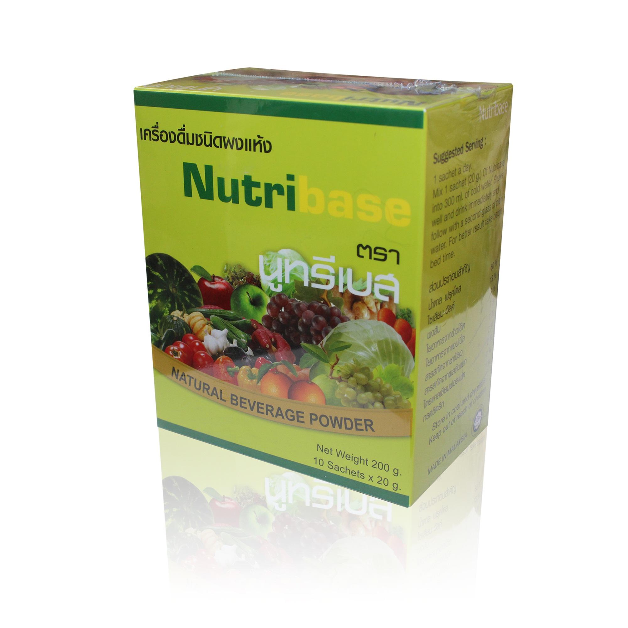 นูทรีเบส ดีท็อกซ์(nutribase detox)ดีท็อกซ์ ลดน้ำหนัก