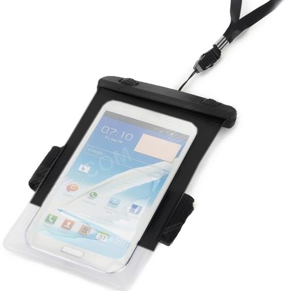 ซองกันน้ำ แบบมีสายรัดแขน สำหรับ Android/IOS สีดำ