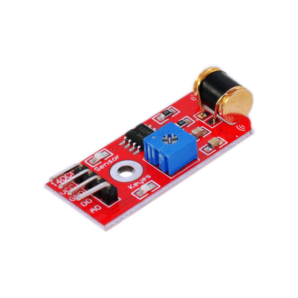 Robot 801S Vibration Sensor Red PCB