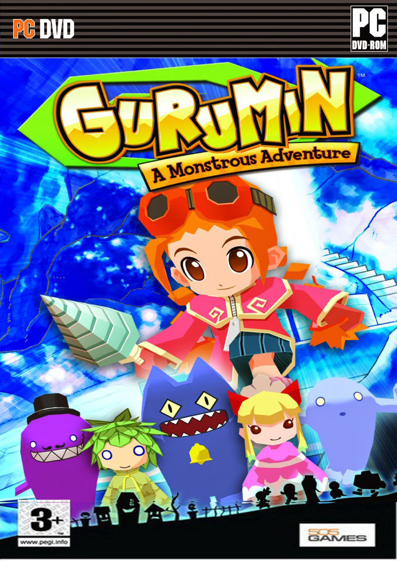 Gurumin A Monstrous Adventure ( 1 DVD )