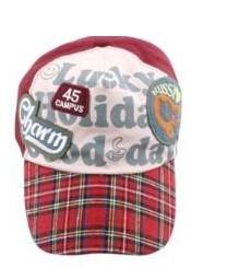 หมวกเด็ก - สีแดง