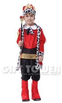 ชุดเจ้าชายแฟนซีเด็ก ชุดกษัตริย์หรือชุดพระราชา Honorable King มีขนาด M, L, XL
