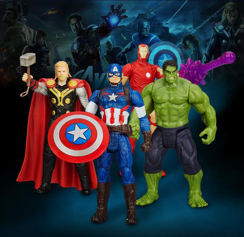 โมเดลฮีโร่ Marvel (มีให้เลือก 4 แบบ)
