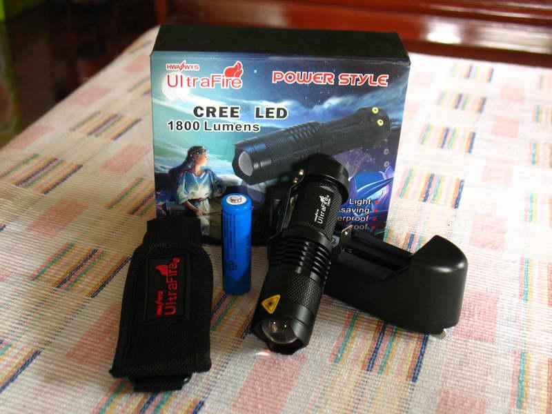 ไฟฉาย UltraFire CREE LED 180 Lumens