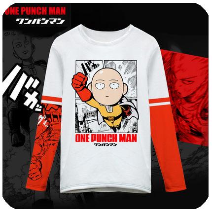เสื้อยืดแขนยาว One Punch Man(เทพบุตรหมัดเดียวจอด)