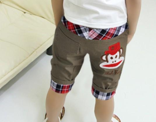 กางเกงสี่ส่วน Paul Frank