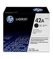 HP 42A ตลับหมึกโทนเนอร์ สีดำ Black Original Toner Cartridge (Q5942A)