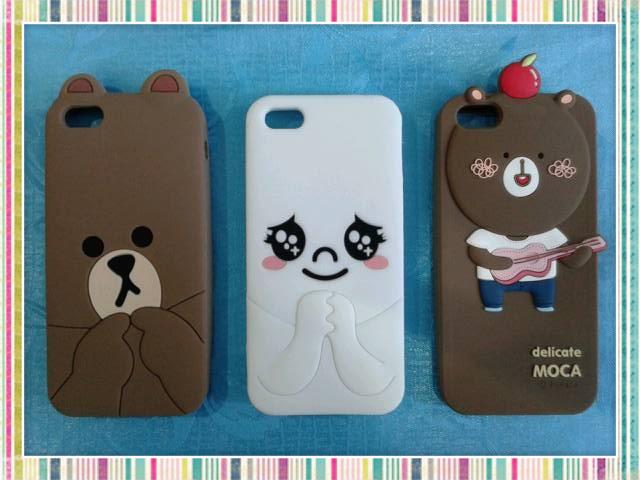 Sticker line case Iphone 5 แสนน่ารักมาแย้ววว ><