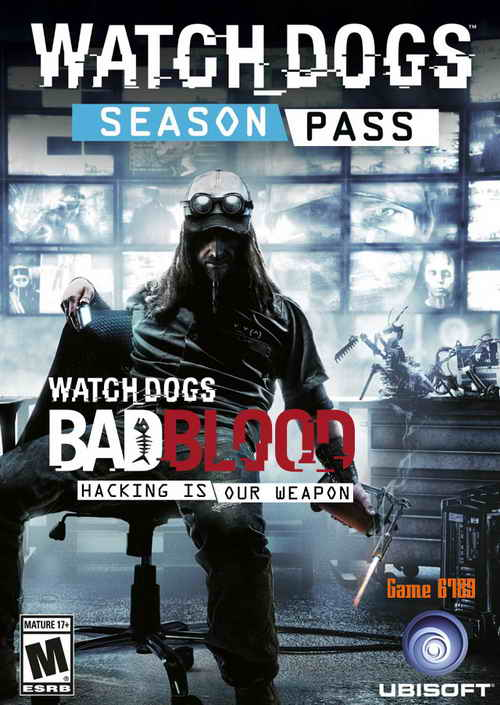 Watch Dogs Bad Blood ( 1 DVD )