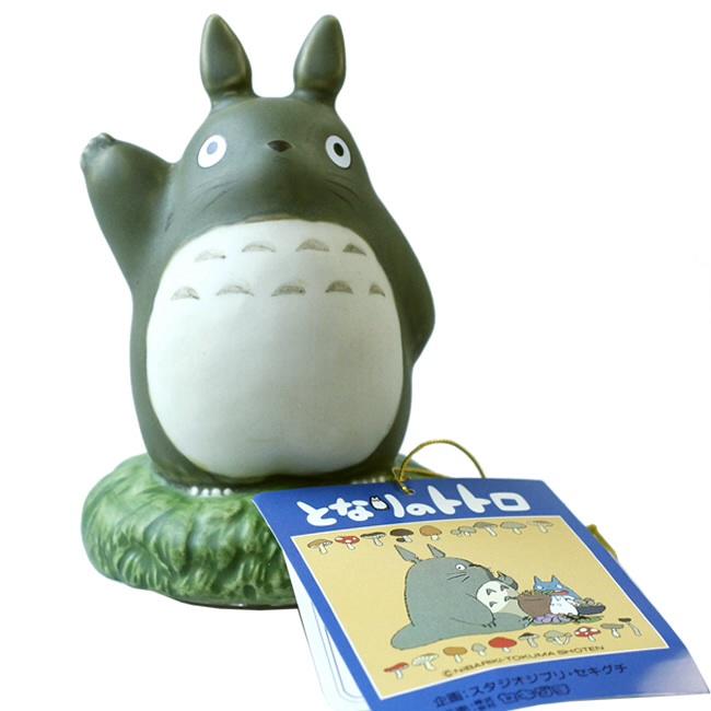 กล่องดนตรีเซรามิก My Neighbor Totoro (โตโตโร่ยกมือลา)
