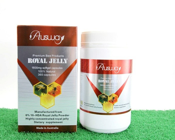 Ausway Royal Jelly Premium 1600 mg นมผึ้ง ออสเวย์