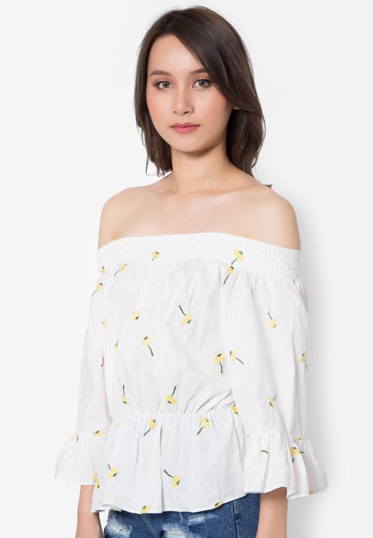 เสื้อเบลาส์ Summer Blossom