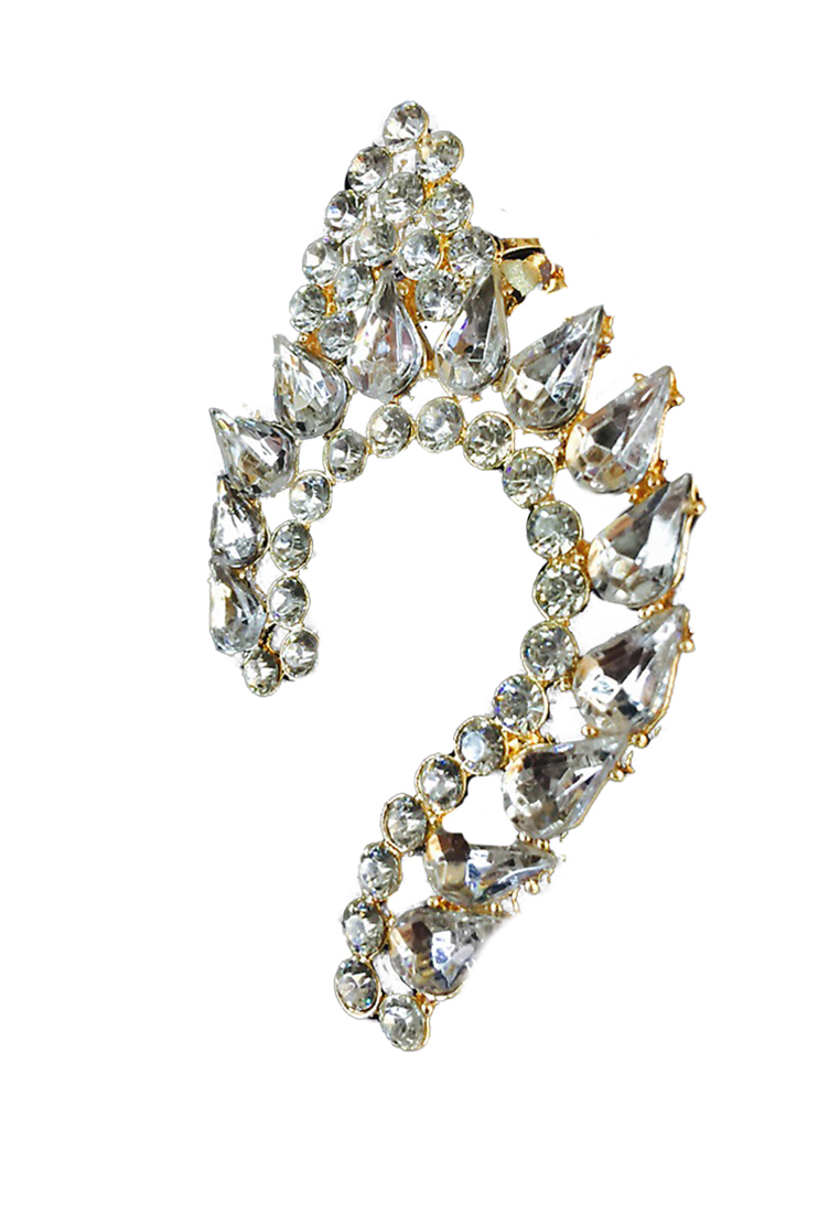 ต่างหู Drilling Gems Earcuff
