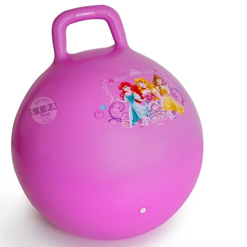 บอลเด้งดึ๋งเจ้าหญิง สีม่วง....ฟรีค่าจัดส่ง