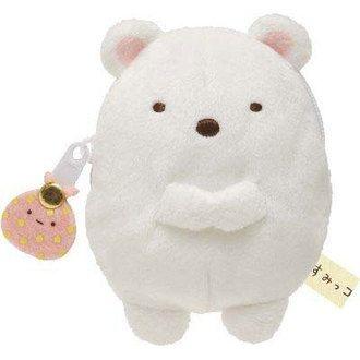 กระเป๋าใส่เหรียญ Sumikko Gurashi (หมีขาว)